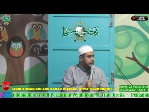 Bahaya Konsumsi Makanan Haram Habib Ahmad bin Abu Bakar Assegaf (Ihya' Ulumuddin)