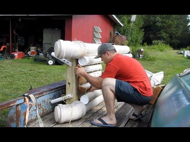 The Cheap Homemade PVC Kayak Update