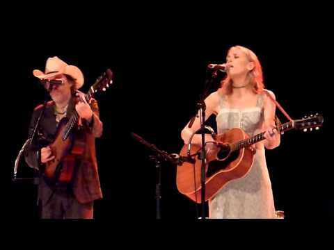 White Rabbit - Gillian Welch and Dave Rawlings - Enmore Theatre, Sydney 9-2-2016