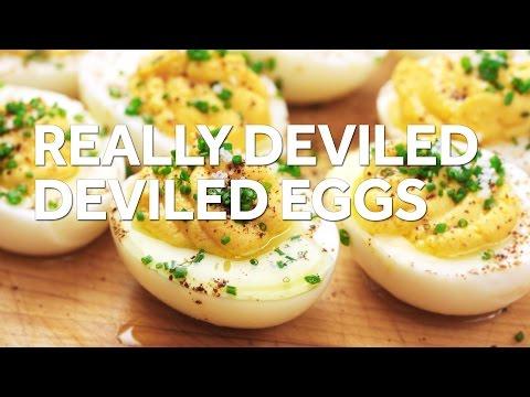 Video Devilishly Good Deviled Eggs