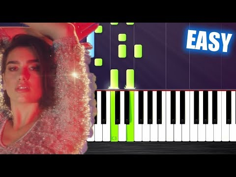Calvin Harris, Dua Lipa - One Kiss - EASY Piano Tutorial by PlutaX