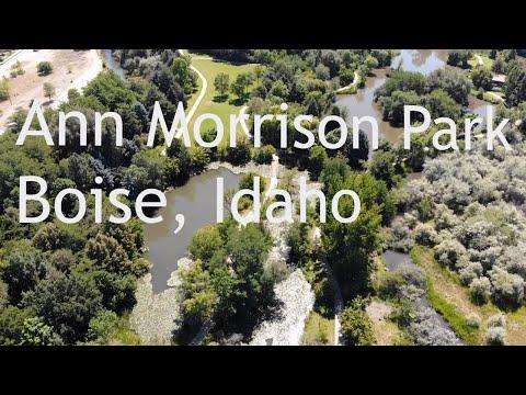 Ann Morrison Park, Boise, Idaho (4k Drone)