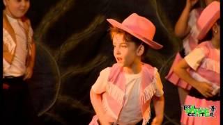 Zumba Kids Jr   Cowboy Dance | DO U SPEAK DANCE Showcase 2015 By Total Dance Center