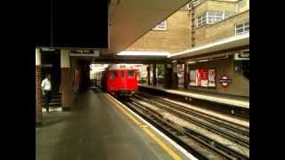 preview picture of video 'Metropolitan line A60 Stock 5090/5061 leaving Harrow On the Hill Station on 27/6/12'