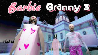 Barbie Granny 3 Full Gameplay