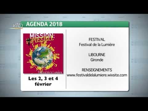Agenda du 26 janvier 2018