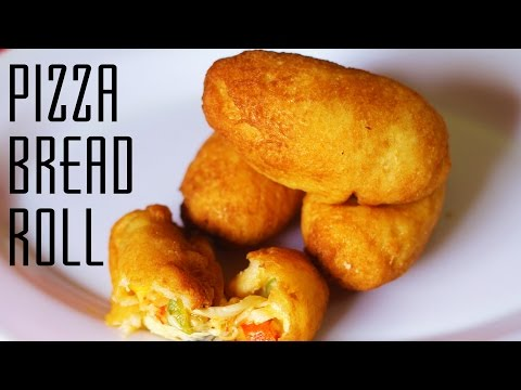 Pizza Bread Rolls | Instant Snack/Appetizer Recipe | Kanak's Kitchen