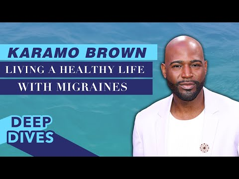 Karamo Brown Details His Experience with Migraines | #CelebrityDeepDives | Health