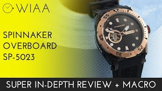 Spinnaker Overboard SP-5023 Watch Review