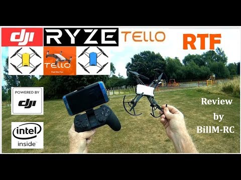DJI Ryze Tello - Features & Flight tests