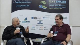Carlos Alencastre e Rasca Rodrigues conversam sobre avanços e desafios para a gestão das águas
