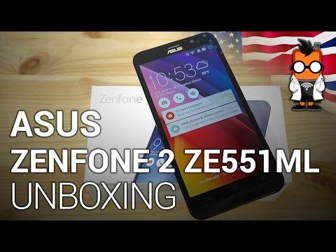 ASUS Zenfone 2 ZE551ML unboxing [english]