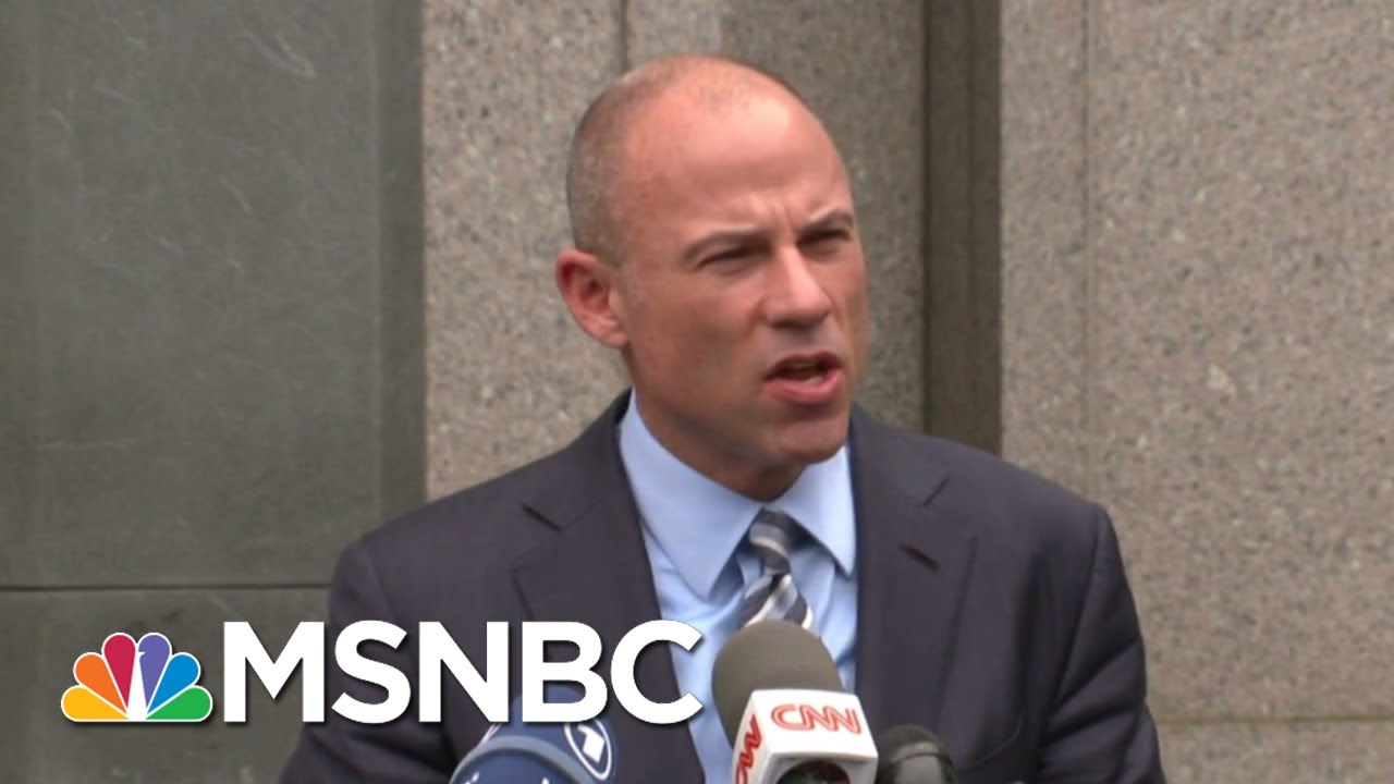 Michael Avenatti: 'I Know For A Fact' Cohen Has A Tape Of Trump   The Beat With Ari Melber   MSNBC thumbnail