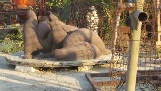 preview picture of video 'ללא גוף - כפרי סדנה לפיסול למרחב הציבורי - בכל צורה בכל גודל Kafri sculpting workshop'