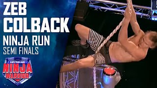 Zed Colback (Semi Final) | Australian Ninja Warrior 2018