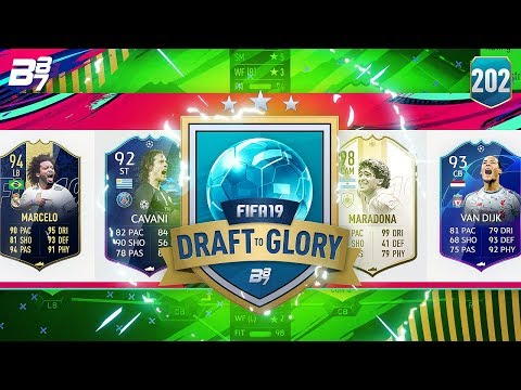 WOW! GOALS COMING FROM ALL ANGLES! | FIFA 19 DRAFT TO GLORY #202