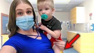 Baby Preston Get Mysterious Rash & Gets Vaccinated at the Doctor's Office!!!