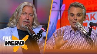 Rob Ryan on Sam Darnold as a franchise QB, Mayfield to the Browns and Rosen's rant | THE HERD