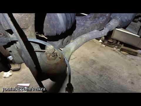 Chevrolet Trailblazer / Saab 97x wheel bearing replacement