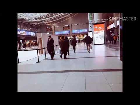 Yongsan station trip by KTX 2019