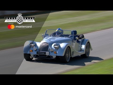 Morgan Plus 6 debuta en Goodwood