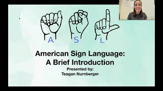 Brief History of American Sign Language