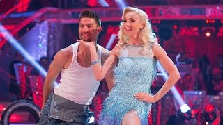 Helen George & Aljaz Skorjanec Cha Cha to 'Uptown Girl' - Strictly Come Dancing: 2015