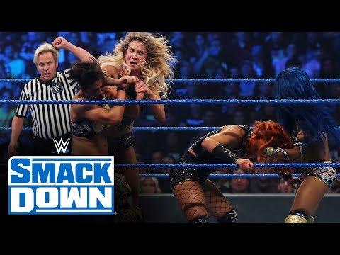 Becky Lynch & Charlotte Flair vs. Sasha Banks & Bayley: SmackDown, Oct. 4, 2019