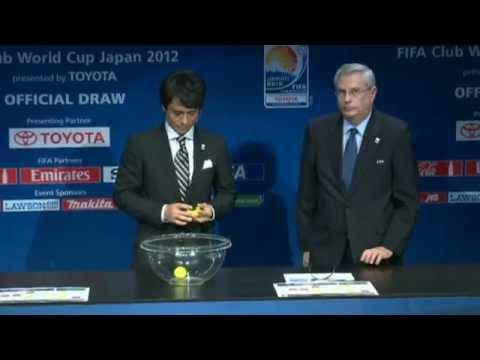 Sorteio do Mundial de Clubes da FIFA 2012