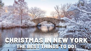 Christmas in New York - Top Things You MUST Do