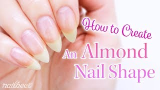 ☆ Pointed Almond Nail Shape ☆