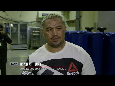 Fight Night Auckland: Mark Hunt Backstage Interview