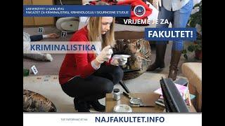 Promotivna videa studijskih programa Fakulteta