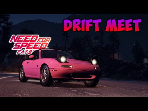 NEED FOR SPEED PAYBACK DRIFT MEET PS4 (LIVE)