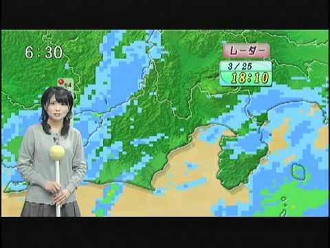 【岡村真美子】まみこの天気予報20110325