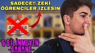 OKULA GİTMEMEK İÇİN RAPOR ALMA TAKTİKLERİ !! (Bilinmeyen Öğrenci Videosu)