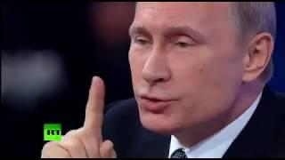 Путин о пенсионной реформе и оккупации России.