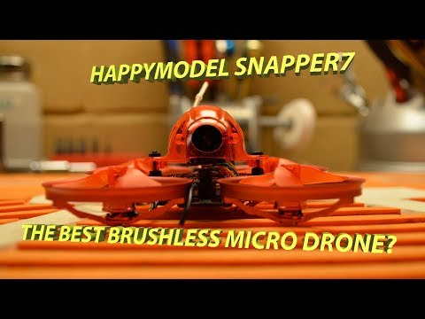 Happymodel Snapper7 binding and review