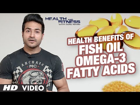 Health Benefits of Fish Oil Omega-3 Fatty Acids | GuruMann