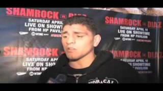 Nick Diaz talks about Frank Shamrock and MMA