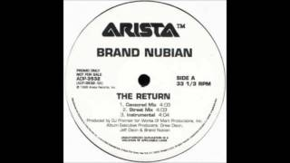 Brand Nubian - The Return (DJ Premier Instrumental) (1998)