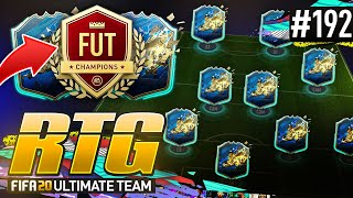 NEW TOTS FUT CHAMPS SQUAD! - #FIFA20 Road to Glory! #192! Ultimate Team