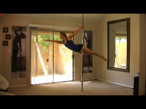 *Online Pole Daning Lesson*  Learn The Superman Pole Dance Move For Beginners