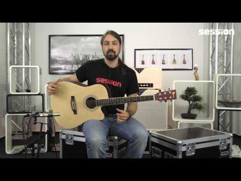 Redwood Dreadnought Series Cut NT Westerngitarren-Review von session