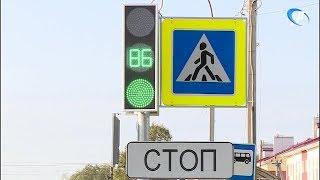 В Деревяницком микрорайоне установили светофор на пути в школу