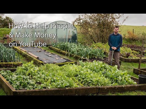 How to Help People & Make Money on YouTube