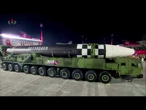 North Korea unveils 'monster' intercontinental missile