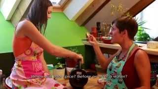Video Bändy - Klára Kubištová a Ilona Maňasová - Bibiny menu