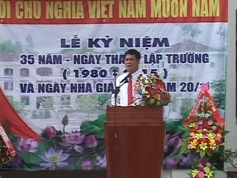 Lễ kỉ niệm 35 năm THPT Lê Lợi - Phú Yên (P2)