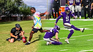 MAKING EVERY KICK THAT NFL KICKERS MISSED.. (MINNESOTA VIKINGS, SIGN ME)